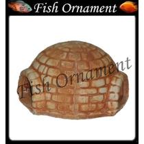 Enfeite Trema Iglu Toca Pq Envelhecido T 45 Fish Ornament
