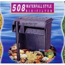 Filtro Externo Jebo 508 Vazão De 980 L/h Para Aquários -110v