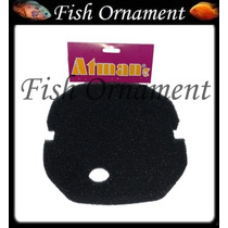 Espuma Canister Atman At - 3337 At - 3338 Fish Ornament