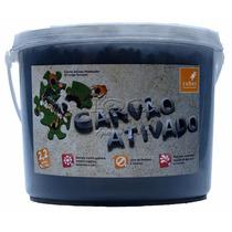 Carvão Ativado Para Lagos E Aquários Cubos 1,1kg, 2,2 Litros