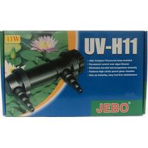 Filtro Uv De 11w. Ultra Violeta Jebo C/tubo De Cristal 110v.
