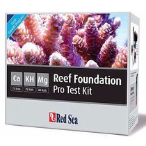 Kit Testes Reef Foundation Red Sea Ca Kh Mg