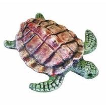 Enfeite Para Aquario Tartaruga Ceramica Grande Trema
