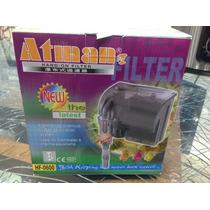 Filtro Externo Hangon Atman Hf 600 P/-aquário Até 250litros