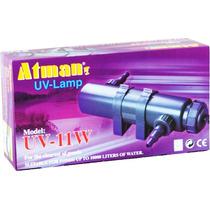 Filtro Uv 11w Atman Ultra Violeta Para Aquários E Lagos 220v