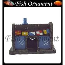 Enfeite Aquario Lanchonete Siri Cascudo Mm010 Fish Ornament