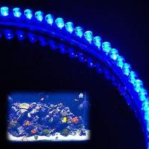 Nova Fita Led Luminário P/ Aquário 120cm 120leds + Fonte