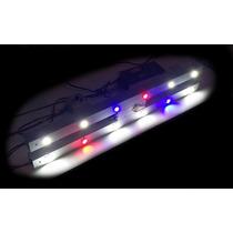 Luminária Super Led Aquario Marinho 200litros Com Corais