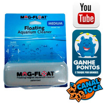 Limpador Magnético Flutuante Mag-float Md Ate Vidro 10mm 125