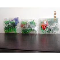 Plantas Artificiais Para Aquários, Pacote Com 30 P - 10 Cm