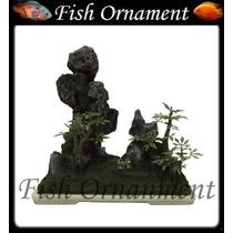 Enfeite De Resina Soma Bonsai 123 Fish Ornament