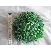 Plantas Artificial Em Plástico Meia Bola Grama Eucalipto