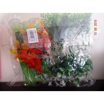Pacote De Plantas Artificiais Com Ventosas 10 Cm