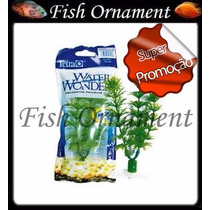 Planta Plastica Tetra Ambulia 15cm Fish Ornament