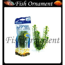 Planta Plastica Tetra Anacharis 15cm Fish Ornament