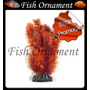 Enfeite Soma Planta Rabo De Raposa Vermel 30cm Fish Ornament