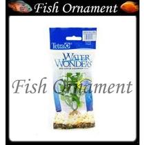 Planta Plastica Tetra Higrophilia 23cm Fish Ornament