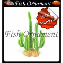 Soma 075533 Enfeite Resina Planta Cactus 04 Fish Ornament