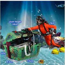 Mergulhador Enfeite Aquário Decoração