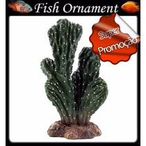 Soma 055204 Enfeite Resina Planta Cactus 116 Fish Ornament