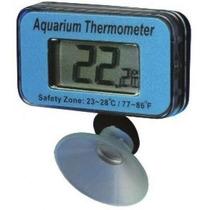 Termômetro P/ Aquário C/lcd Digital Submersível-frete R$9,99