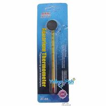 Termômetro Vidro Com Ventosa Para Aquário
