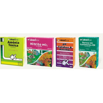 Alcon Kit Teste Para Aquário Marinho - Amonia- Nitrito-ph-kh