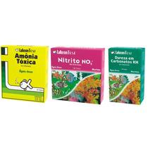 Alcon Kit Teste Para Aquário Doce - Amonia - Nitrito - Kh