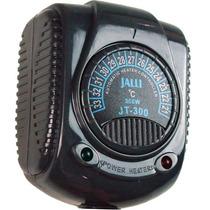 Termostato E Aquecedor Jalli 300w. Aquarios Alevinosepeixes