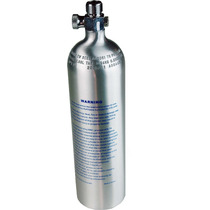 Cilindro Co2 De Alumínio A-138 1 Litro C/ Válvula Topo