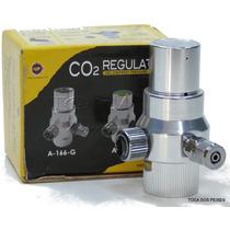 Regulador De Co2 Com Manômetro - Ajuste Fino - Up Aqua