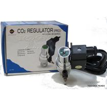 Válvula Reguladora De Co2 Com Manômetro E Solenoide Up Aqua
