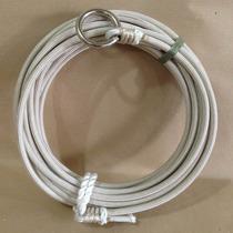 Laço Corda Americano Rigido 10mm 10mts Argola Ferro C/fio