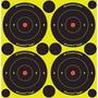 Alvo Flourescente Adesivo - Cbc Glock Pressão Luneta Red Dot