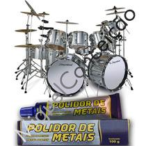 Metal Polish Para Instrumentos Musicais Bateria Bancos