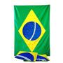 Bandeira Nacional Do Brasil 1,50 X 0,90m Poliéster Torcedor