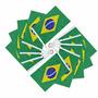 Kit Com 10 Bandeiras Do Brasil Para Carro