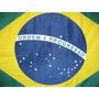 Bandeira Oficial Brasil Tam. 113 X 161cm 2,5p Frete Grátis