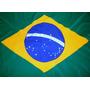Conj.bandeira Brasil, França, Rio Grande Do Sul Tam.90x129cm