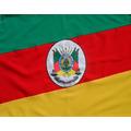 Bandeira Oficial Do Rio Grande Do Sul Tam.90x129cm