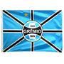 Bandeira Oficial Grêmio Poa Tam. 90 X 130cm 2p Frete Grátis
