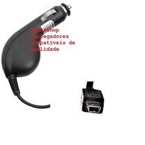 Carregador Veicular Cabo Longo P/ Gps Multilaser Tracker Tv