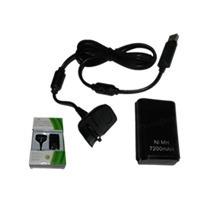 Kit Xbox360 Carregador E Bateria Recarregável + Frete Grátis