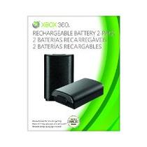 2 Baterias Xbox 360 Recarregáveis Original Microsoft B4u-000