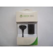 Bateria + Carregador Controle Xbox 360 Original Microsoft