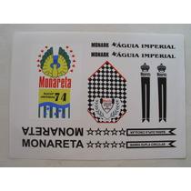* Adesivos Monark Monareta Águia Imperial 74 Frete Grátis *