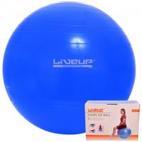 Bola Suiça 65 Cm C/ Bomba Live Up - Yoga Pilates Fitness