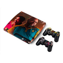 Capa Playstation 3 Ps3 Slim Pelicula Skin Left 4 Dead 2