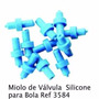 Miolo De Válvula Para Bola Com 12 Unidades