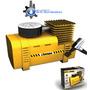 _mini Compressor De Ar / Bomba De Ar P/ Veículos 12v Chimpa_